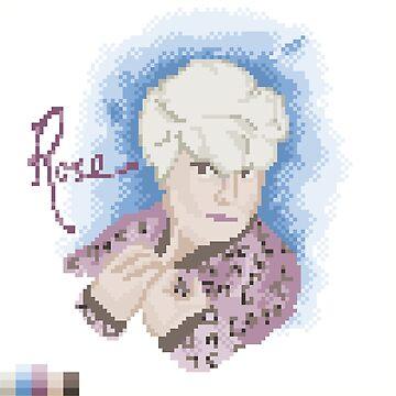 Broken Pixel - Rose by ABrokenPixel