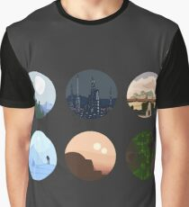 Planets Graphic T-Shirt