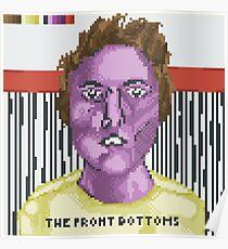 Broken Pixel - The Front Bottoms (Self Titled) Poster