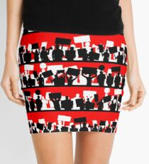 protest march Mini Skirt