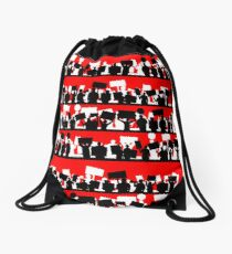 protest march Drawstring Bag