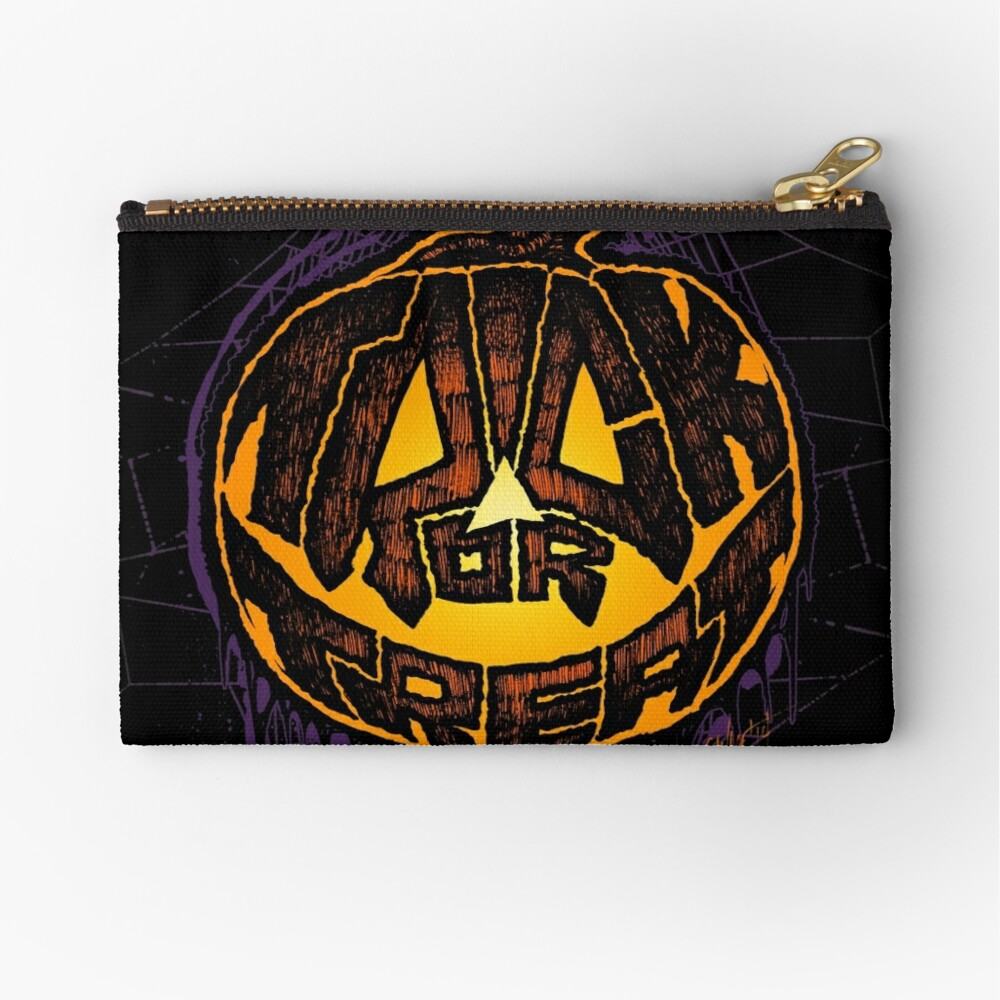 Trick or Treat! Zipper Pouch