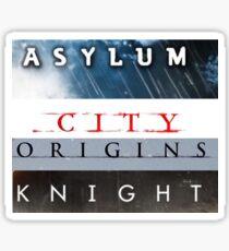 Entire Arkham Series Sticker