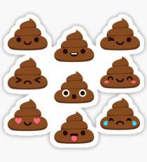 Cute Poop Sticker