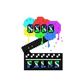 Kiwi Films Pixel Shirt by Kiwiboy1