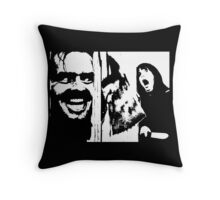 Here's Johnny! - The Shining Throw Pillow