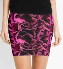 Purple Carnation Mini Skirt