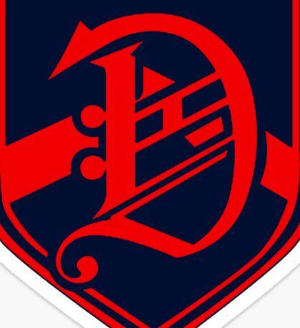Dalton HD white Sticker