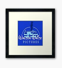 Walter White Pictures Framed Print
