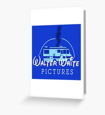Walter White Pictures Greeting Card