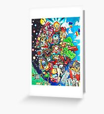 Chaos Two Greeting Card