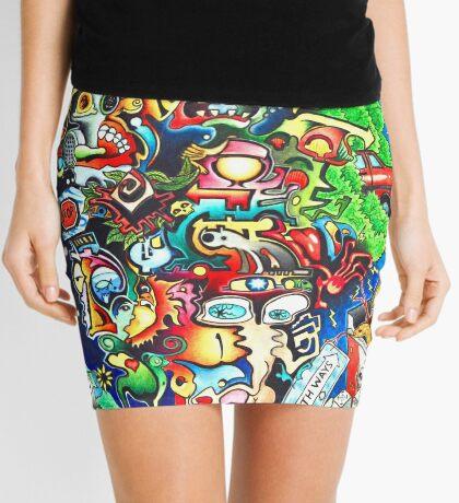 Chaos Two Mini Skirt