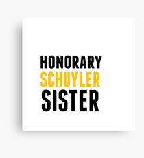 Honorary Schuyler Sister Canvas Print