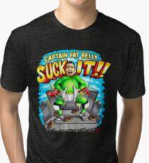 Captain Fat Belly - Unpraktische Joker Vintage T-Shirt