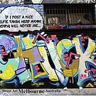 Street Art Melbourne #105 by bekyimage