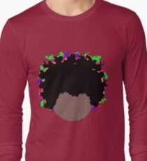Psychedelic Dope Afro  T-Shirt