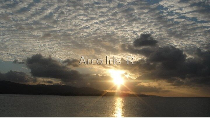 DON'T LET THE CLOUDS TAKE AWAY YOUR SUN by Arco Iris  R
