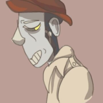 nick valentine by syrenmarie