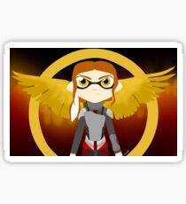 Splatoon - The Hunger Games Sticker