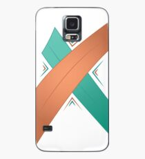 Letter X Case/Skin for Samsung Galaxy