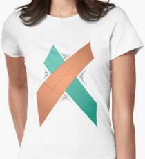 Letter X Women's Fitted T-Shirt