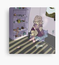 gamer girl Metal Print