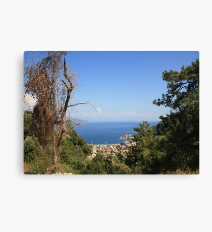 Turunc from the Taurus Mountains Canvas Print