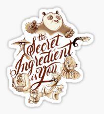 Secret Ingredient Sticker