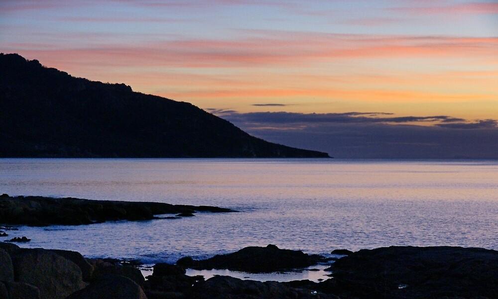 Freycinet Sunset by Harry Oldmeadow