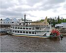 Paddlewheeler, Discovery 11, Fairbanks, Alaska by Margaret  Hyde