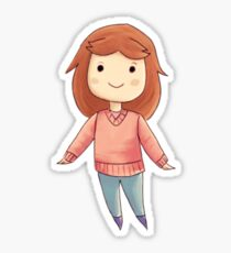 Cute Girl Sticker