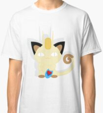 Lucky Cat Meowth Extras Classic T-Shirt