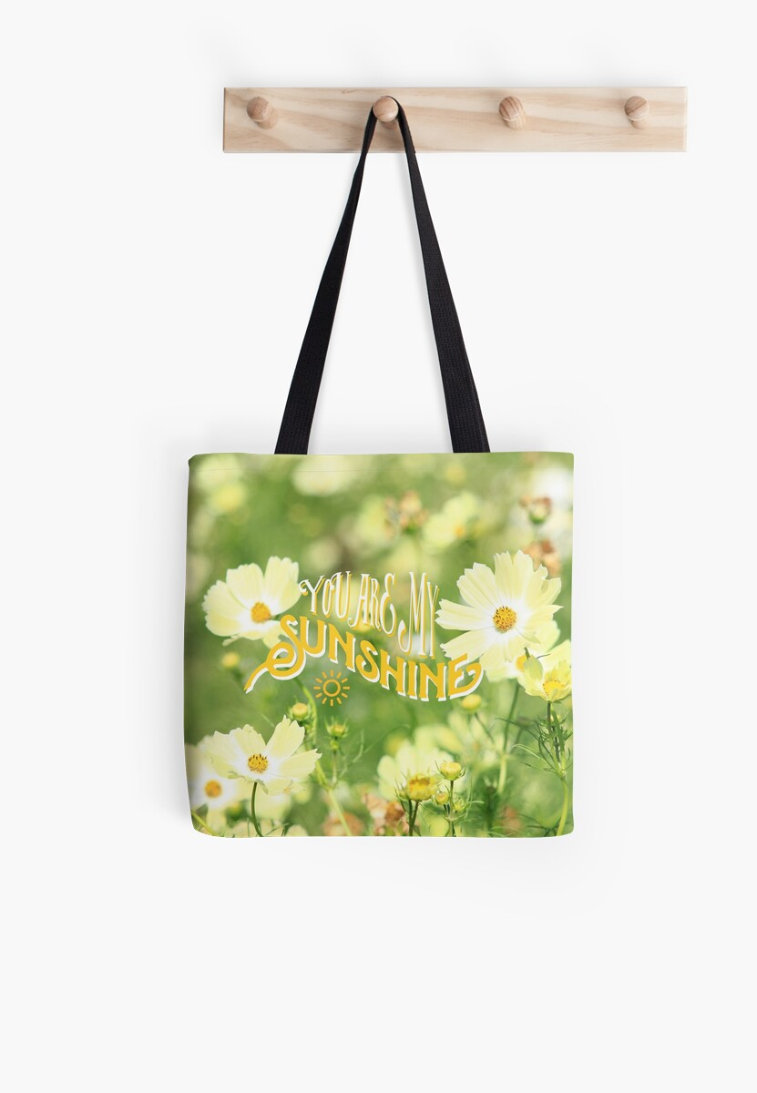 You Are My Sunshine Pretty Yellow Cosmos Flowers by Beverly Claire Kaiya