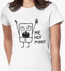 Spongebob: Doodlebob Women's Fitted T-Shirt