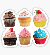 Cute Cupcakes Sticker