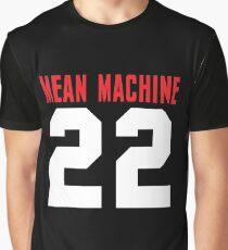 Burt Reynolds 22 Paul Crewe Mean Machine Convicts Football Shirt Graphic T-Shirt