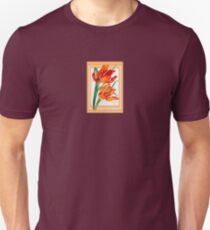 Birthday Wishes - Parrot Tulips T-Shirt