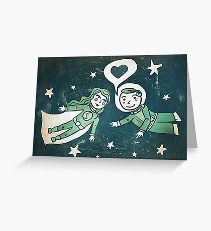 It's a funny story, how we met... Greeting Card