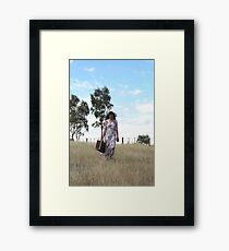 "Zoe Eve ""Country Walk"" Framed Print"