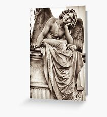 angel in reverie  Greeting Card