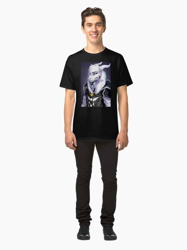 Alternative Ansicht von Undertale - Asriel Dreemurr Classic T-Shirt