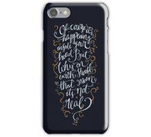 Dumbledore Quote iPhone Case/Skin