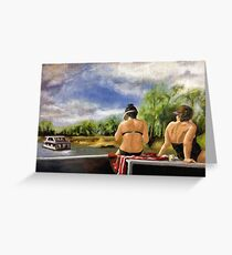 By the Murray River Greeting Card