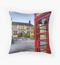 The Woolpack ~ Emmerdale Farm Country Throw Pillow