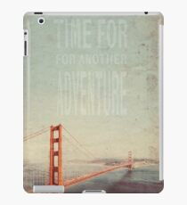 Time for Adventure iPad Case/Skin