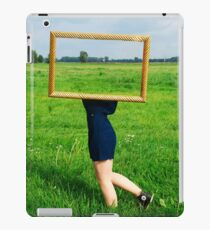 Surrealistic picture frame iPad Case/Skin
