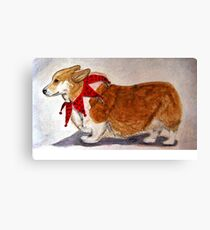 Dashing Through The Snow, Surely You Jest Canvas Print