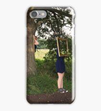 Frame twins iPhone Case/Skin