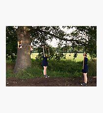 Frame twins Photographic Print
