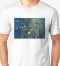 Mesmerizing Autumn - Silky Swirls and Fallen Leaves One T-Shirt